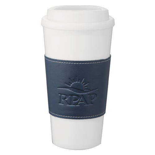Double Wall Plastic Tumbler with Wrap