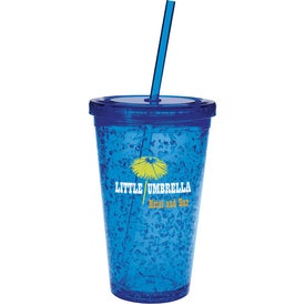 Double Wall Tumbler with Cooling Gel Imprinted with Your Logo