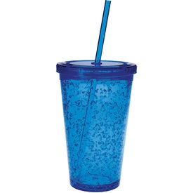 Double Wall Tumbler with Cooling Gel Branded with Your Logo