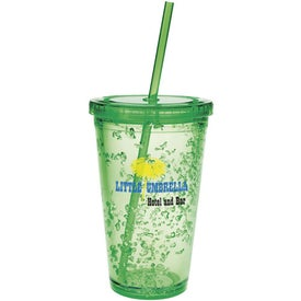 Double Wall Tumbler with Cooling Gel Printed with Your Logo