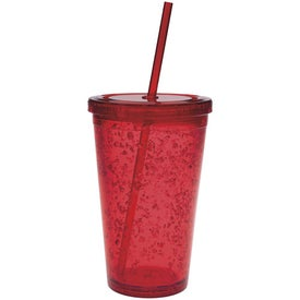 Personalized Double Wall Tumbler with Cooling Gel