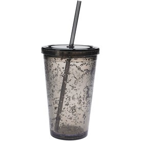 Logo Double Wall Tumbler with Cooling Gel