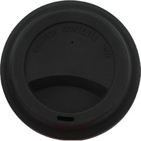 Double Wall Ceramic Tumbler With Lid for Advertising