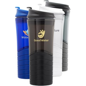 Dunes Double Wall Plastic Travel Mug (16 Oz.)