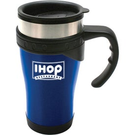 Durable Stainless Steel Travel Mug (16 Oz.)