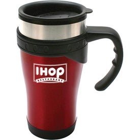 Durable Stainless Steel Travel Mug Branded with Your Logo
