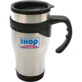 Monogrammed Durable Stainless Steel Travel Mug