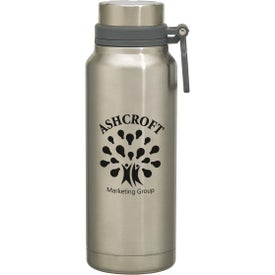 Easton Stainless Steel Growler (40 Oz., White and Silver)