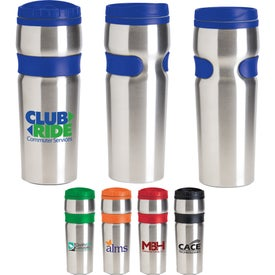 Easy Grip Stainless Travel Tumbler (14 Oz.)