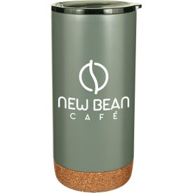 Estate Double Walled Stainless Tumbler with Cork Bottoms (16 Oz.)
