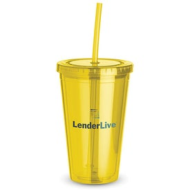 Monogrammed Everyday Plastic Cup Tumbler