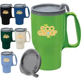Logo Evolve Traveler Mug
