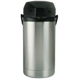 Company Figaroa Steel Pump Carafe