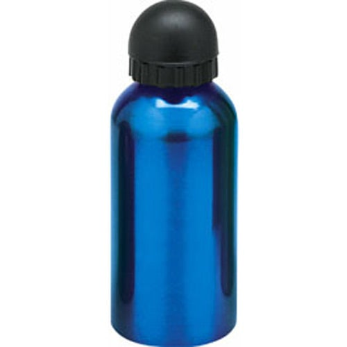 Blue Flask with Domed Pull Top