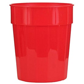 Fluted Stadium Cup Printed with Your Logo