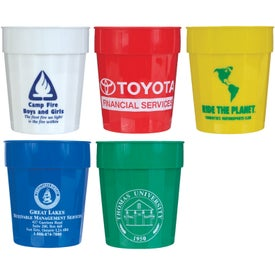 Fluted Stadium Cup Imprinted with Your Logo