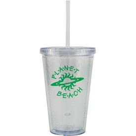 Imprinted Freedom Facet Tumbler