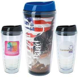 Full Color Ringed Tumbler (18 Oz.)