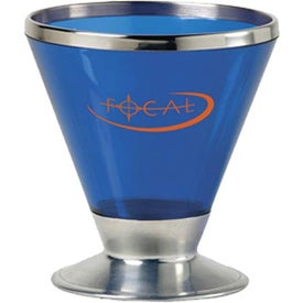 Imprinted Fusion Martini Glass