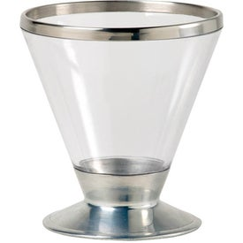 Fusion Martini Glass Branded with Your Logo