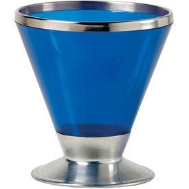 Monogrammed Fusion Martini Glass