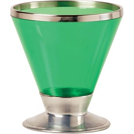 Fusion Martini Glass Imprinted with Your Logo
