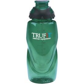 Glacier Bottle with Your Slogan