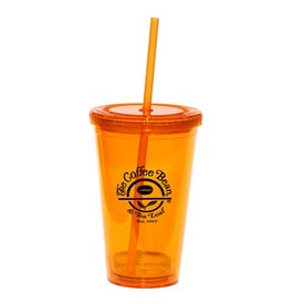 Personalized Glacier Double Wall Acrylic Tumbler