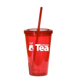 Glacier Double Wall Acrylic Tumbler with Your Logo