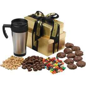 Grande Gift Box with Travel Mug and Fill