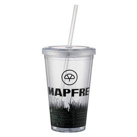 Green Grass Iced Coffee Tumbler