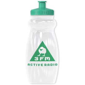 Gripper Bottle with Your Slogan