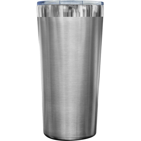 Silver Hakatan Stainless Steel Travel Mug