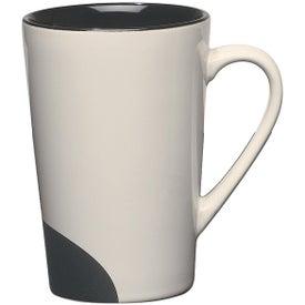 Half-moon Mug Imprinted with Your Logo