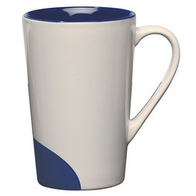 Half-moon Mug Imprinted with Your Logo