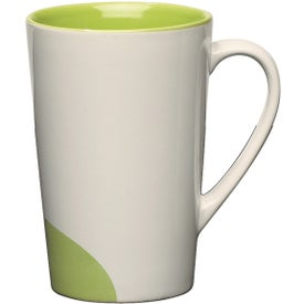 Half-moon Mug Printed with Your Logo