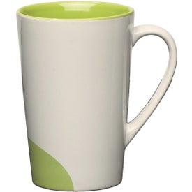 Half-moon Mug Printed with Your Logo