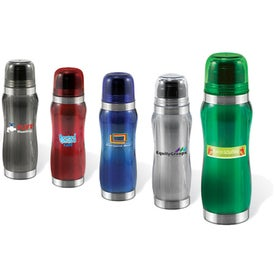 Half Liter Stainless Steel and Acrylic Thermal Drinkware