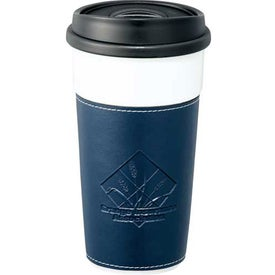 Hampton Ceramic Tumbler With Hard Lid for Promotion