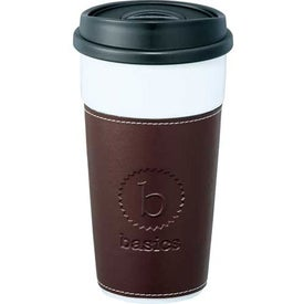 Hampton Ceramic Tumbler With Hard Lid with Your Slogan