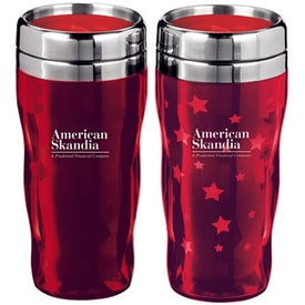 Heat Wave Star Tumbler with Your Slogan