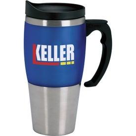 Heavyweight Travel Mug Printed with Your Logo