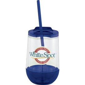 Hot & Cold Clarity Drop Tumbler (15 Oz.)