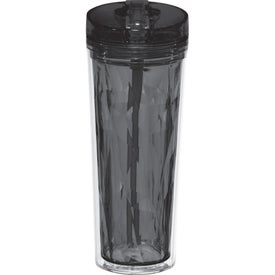 Hot and Cold Flip n Sip Geometric Tumbler (18 Oz.)