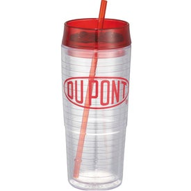 Personalized Hot & Cold Swirl Double-Wall Tumbler