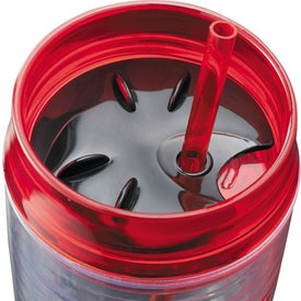 Hot & Cold Swirl Double-Wall Tumbler for your School