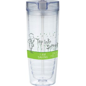 Advertising Hot & Cold Flip N Sip Vortex Tumbler