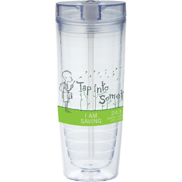 Hot & Cold Flip N Sip Vortex Tumbler
