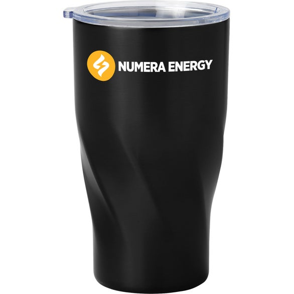 Black Hugo Vacuum Insulated Tumbler