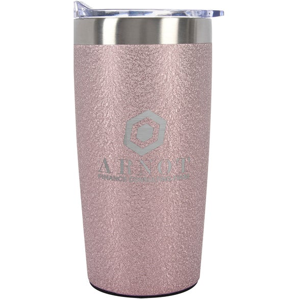 Ice Rose Gold Iced Out Himalayan Tumbler